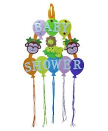EZ Life Baby Shower Wall Hanging - Multicolor