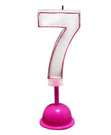 EZ Life LED Number Candle With Light And Sound - Number 7