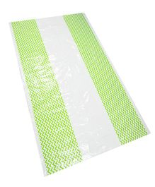 EZ Life Zig Zag Disposable Table Cover - Green