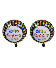 EZ Life Foil Balloon Birthday Themed - Multicolor