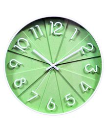 EZ Life Analog Wall Clock - Green