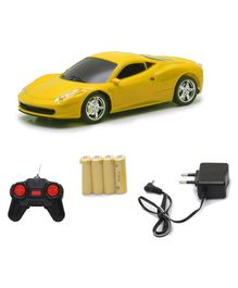 The Flyer's Bay Speedster Rechargeable Remote Controlled Car - Yellow