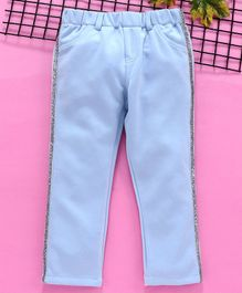 Babyhug Full Length Trouser - Blue