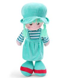 Starwalk Candy Doll With Stripes Green - 55 cm