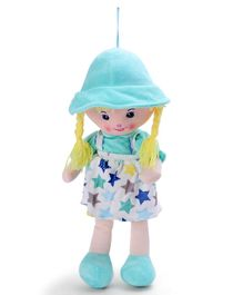 Starwalk Candy Doll With Star Print Green - 55 cm