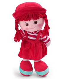Starwalk Candy Doll With Stripes Red - 35 cm