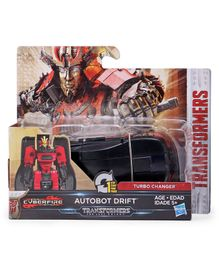 Transformers Turbo Changer The Last Knight Autobot Drift Figure Vehicle - Black