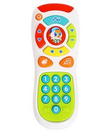 Yamama Electric Click & Count Remote With Light & Music - Multicolour