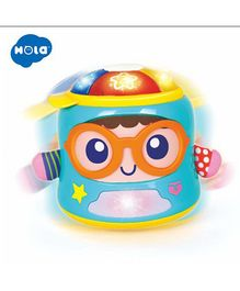 Yamama Hola Baby 2 in 1 Musical Toy With Light - Multicolour