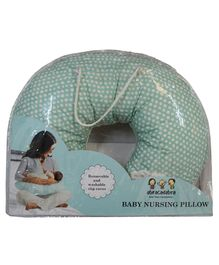 Abracadabra Baby Nursing Pillow Sheep Print - Blue White