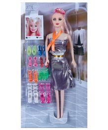 NHR Fashionable Doll With Accessories Multicolour Height - 29 cm
