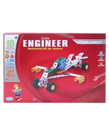 Petals Little Engineer Airforce Set Multicolor - 105 Pieces