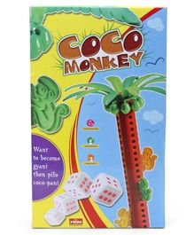 Petals Coco Monkey Play Set Multicolor - 18 Pieces