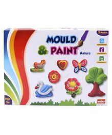 Petals Mould and Paint Nature - Multicolor