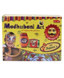 Petals Madhubani Art DIY Activity Game Multicolor