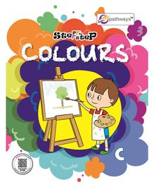 Step By Step Colours Book B - English