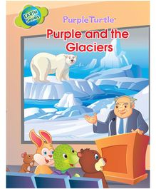 Earth Series Purple And The Glaciers - English
