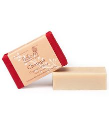 Rustic Art Organic Champa Soap - 100 gm