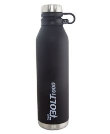 TREO By Milton Bolt Vaccum Insulated Hot & Cold Bottle Black - 1000 ml