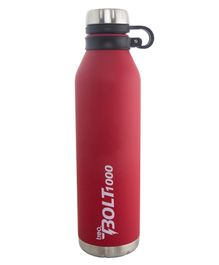 TREO By Milton Bolt Vaccum Insulated Hot & Cold Bottle Red - 1000 ml