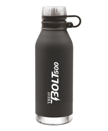 TREO By Milton Bolt Vaccum Insulated Hot & Cold Bottle Black - 500 ml