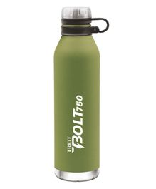 TREO By Milton Bolt Vaccum Insulated Hot & Cold Bottle Green - 750 ml