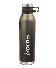 TREO By Milton Bolt Vaccum Insulated Hot & Cold Bottle Metallic Black - 750 ml