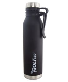 TREO By Milton Bolt with Hook Insulated Hot & Cold Bottle Black - 750 ml