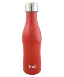 Treo by Milton Campa 500 Vaccum Insulated Hot & Cold Stainless Steel Water Bottle Red - 455 ml