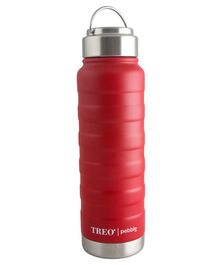 TREO By Milton Pebble Insulated Hot & Cold Bottle Red - 530 ml
