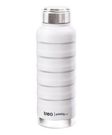 TREO By Milton Pebble Insulated Hot & Cold Bottle White - 710 ml