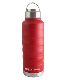 TREO By Milton Pebble Insulated Hot & Cold Bottle Red - 940 ml