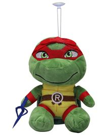 Fiddlys Turtle Soft Toy Olive Green - Length 23 cm