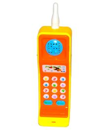 Vibgyor Vibes Cordless Musical Phone Toy - Yellow Orange