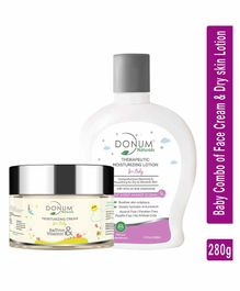 Donum Naturals Baby Combo of Saffron Vitamin F and Massage Oil  - 220 ml