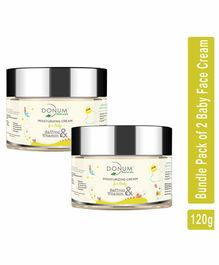 Donum Naturals Baby Glowing Skin Deep Moisturizing Saffron & Vitamin F Cream  Pack of 2 - 60 gm