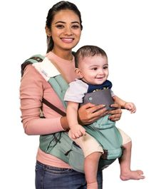 Polka Tots Baby Hip Seat Carrier - Green
