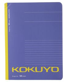Kokuyo Single Line Notebook purple- 160 Pages