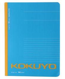 Kokuyo Single Line Notebook blue - 120 Pages