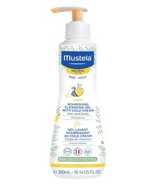 Mustela Nourishing Cleansing Gel with Cold Cream - 300 ml