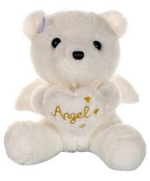 Dhoom Soft Toys Angel Bear Off White - Height 20 cm