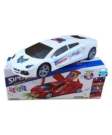 Funblast Super Car With 3D Projection Light & Sound - (Assorted Color)