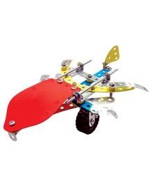 Enginero Metal Plane & Helicopter Construction Set - 98 Pieces