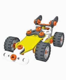 Enginero Plastic Car Construction Set - 77 Pieces