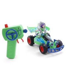 Disney Toy Story Remote Controlled Turbo Buggy with Buzz - Green