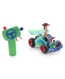 Disney Toy Story Remote Controlled Turbo Buggy with Woody - Green