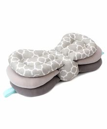 3 in 1 Elevate Adjustable Feeding Pillow - Grey