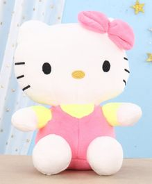 Dimpy Stuff Hello Kitty Soft Toy Pink and White - 18 cm