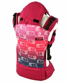 Anmol Baby 2 Way Carrier Rickshaw Cool Semi WCSSC -  Magenta