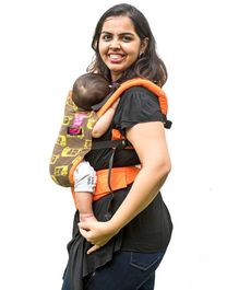 Anmol Baby 2 Way Carrier Rickshaw  Semi WCSSC - Orange